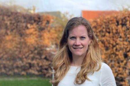Photographic portrait of Bernadette Wesdorp