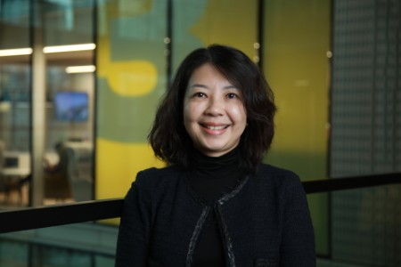 Photographic portrait of Clare Wong