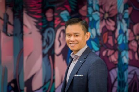 Photographic portrait of Darren Chua