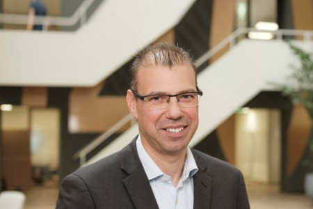 Photographic portrait of Dr. Joost Smits