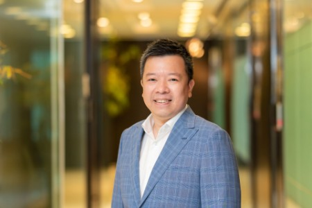 Photographic portrait of Gary Ong