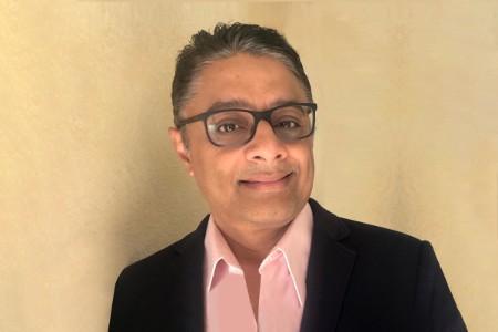 Photographic portrait of Giri M Durbhakula