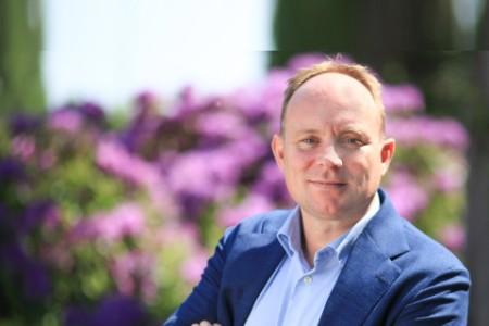 Photographic portrait of Jeroen Scholten