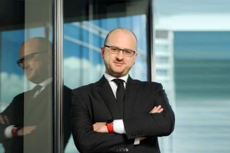 Photographic portrait of Krzysztof Łapiński