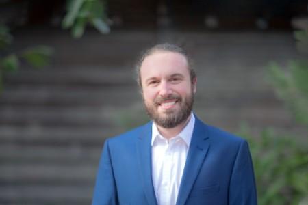 Photographic portrait of Marc Coltelli