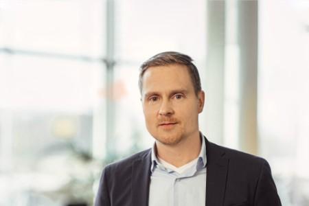 Photographic portrait of Peik Schulman
