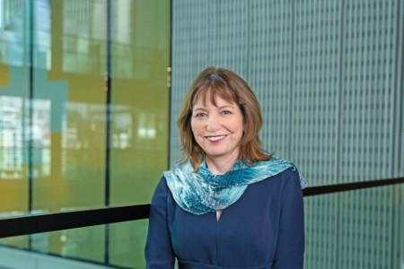 Photographic portrait of Rebecca Farmer