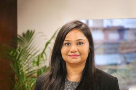 Photographic portrait of Swati Goenka