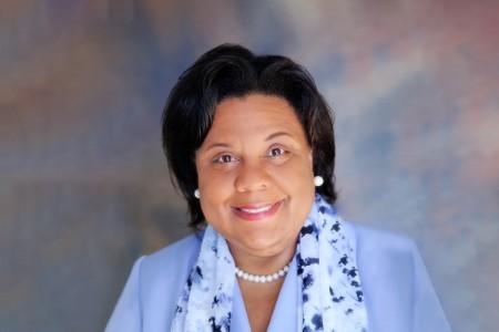 Photographic portrait of Theresa Harrison