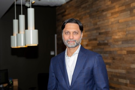 A photographic portrait of Vineet Wilson