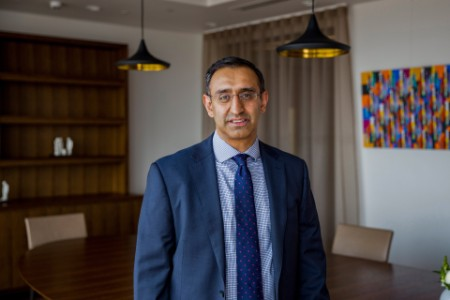 Photographic portrait of Vivek Prashar