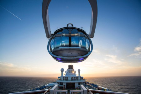 Royal Caribbean Northstar observation pod