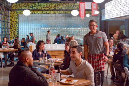 Think food group customers restaurant transformed