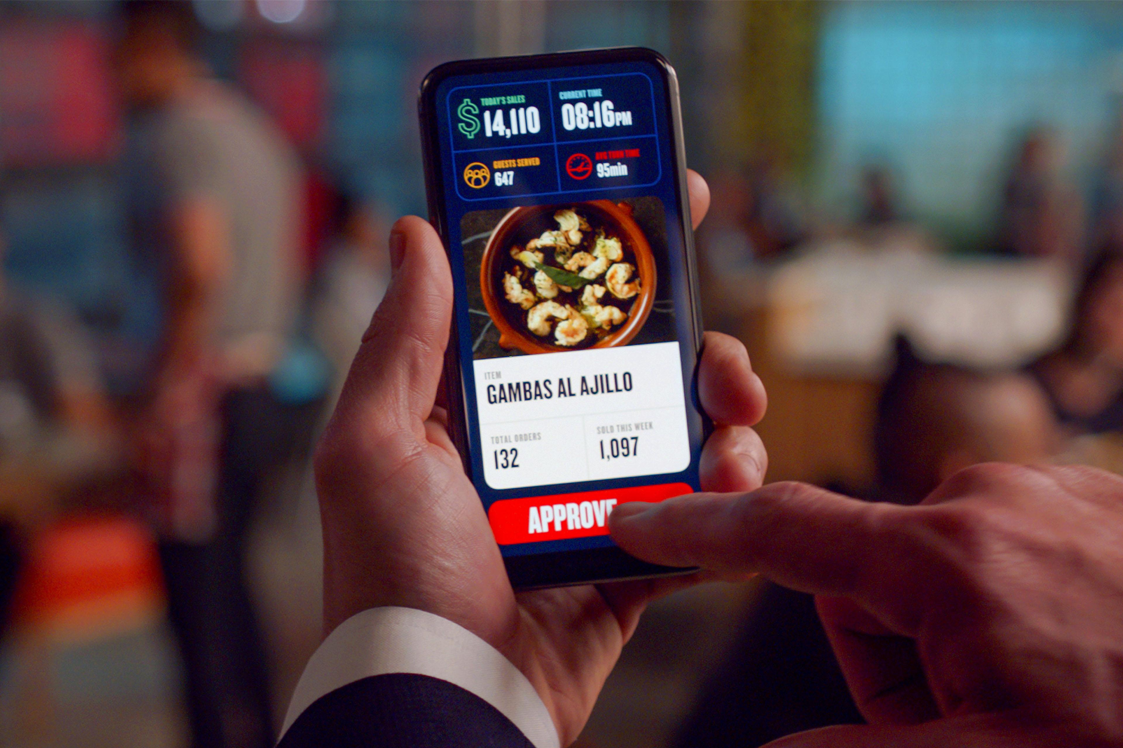 Think Food Group data platform real-time service