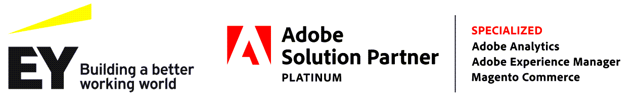 EY and Adobe Solution Partner logo