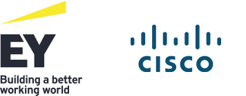 EY and Cisco logo