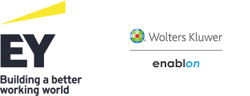 EY and Wolters Kluwer Enablon logo