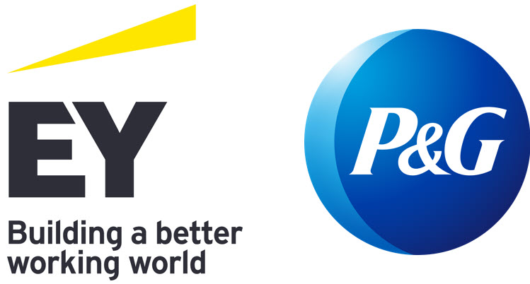 EY and P&G logo