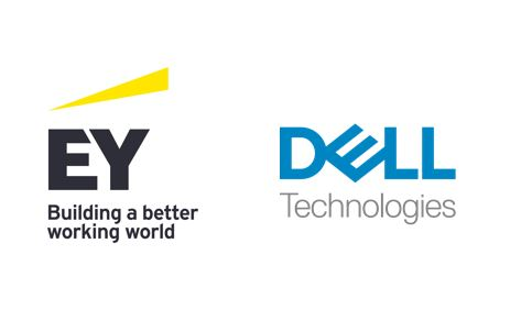EY and Dell logo