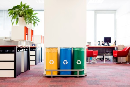 recycle bins office