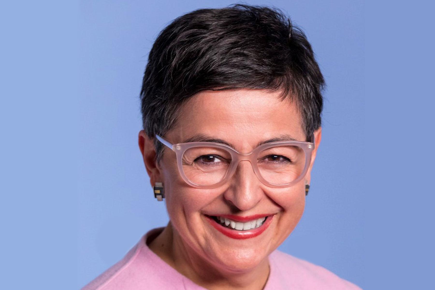 Photographic portrait of Arancha González