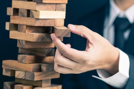 Quitar el juego de torre de bloques