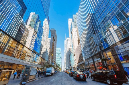 Street Midtown Manhattan New York City USA