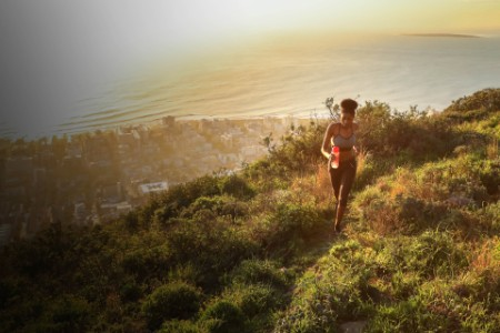 women running hills cape town