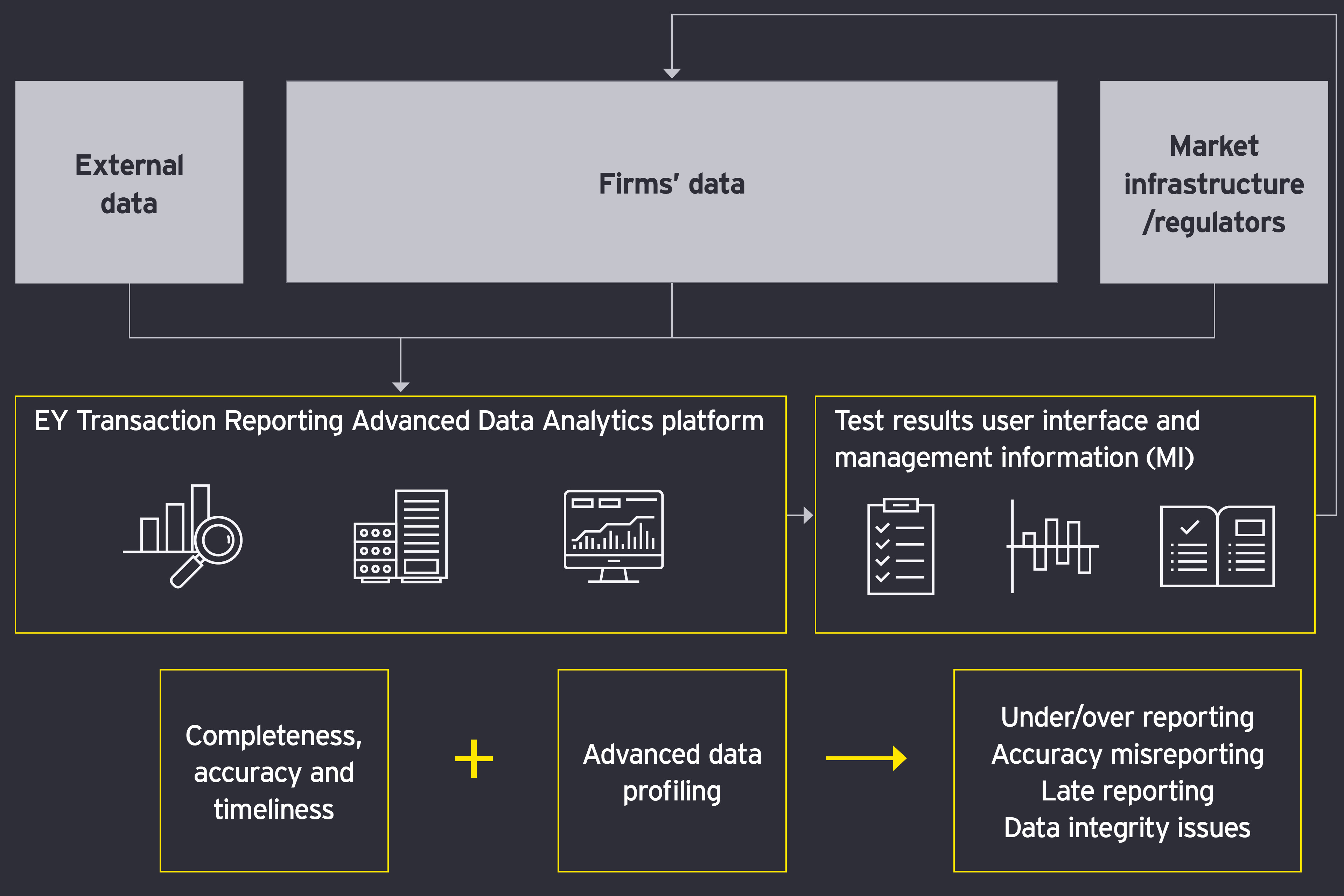 Transaction reporting infographic