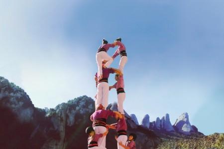 Festival de la Pirámide Humana de <em>Team Climbing</em>