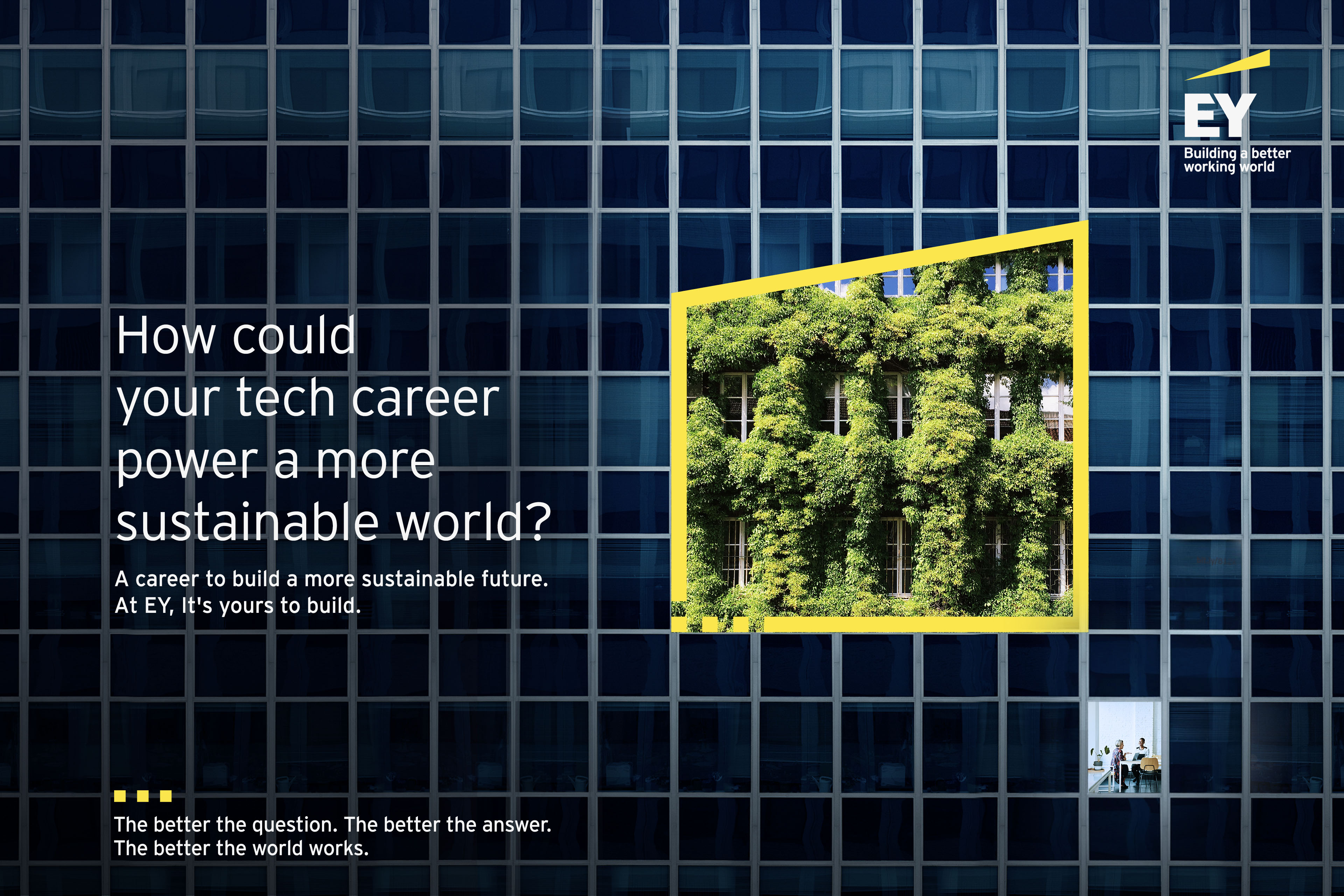 How could your tech career power a more sustainable world?