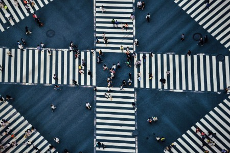 A crosswalk