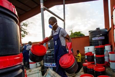 Clean Team Kumasi Ghana