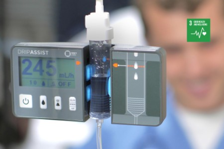 drip assist IV fluids monitor