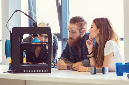 3d printer action business