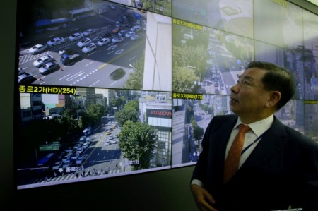 official seoul looking real time traffic data