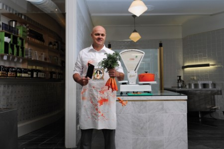 the vegetarian butcher founder Jaap Korteweg