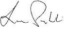 Hank Prybylski Signature