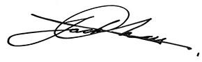 Firma di Jack Chan