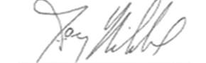 Firma di Jay Nibbe