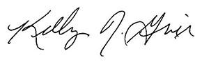 Firma di Kelly Grier