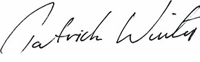 Firma di Patrick Winter