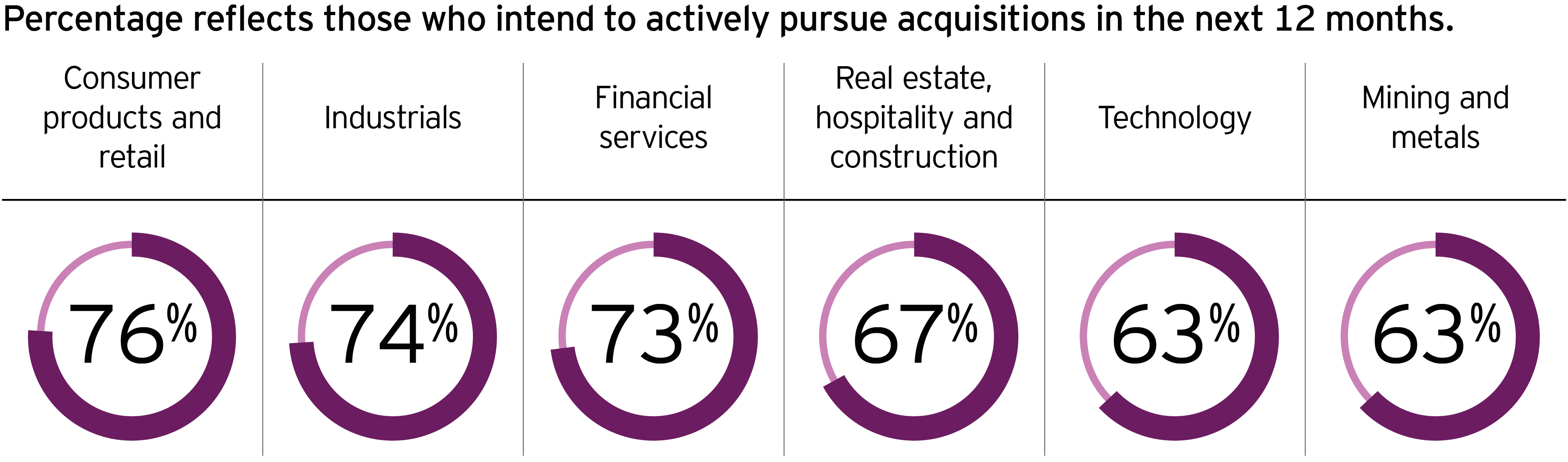 actively persue acquisitions in next 12 months