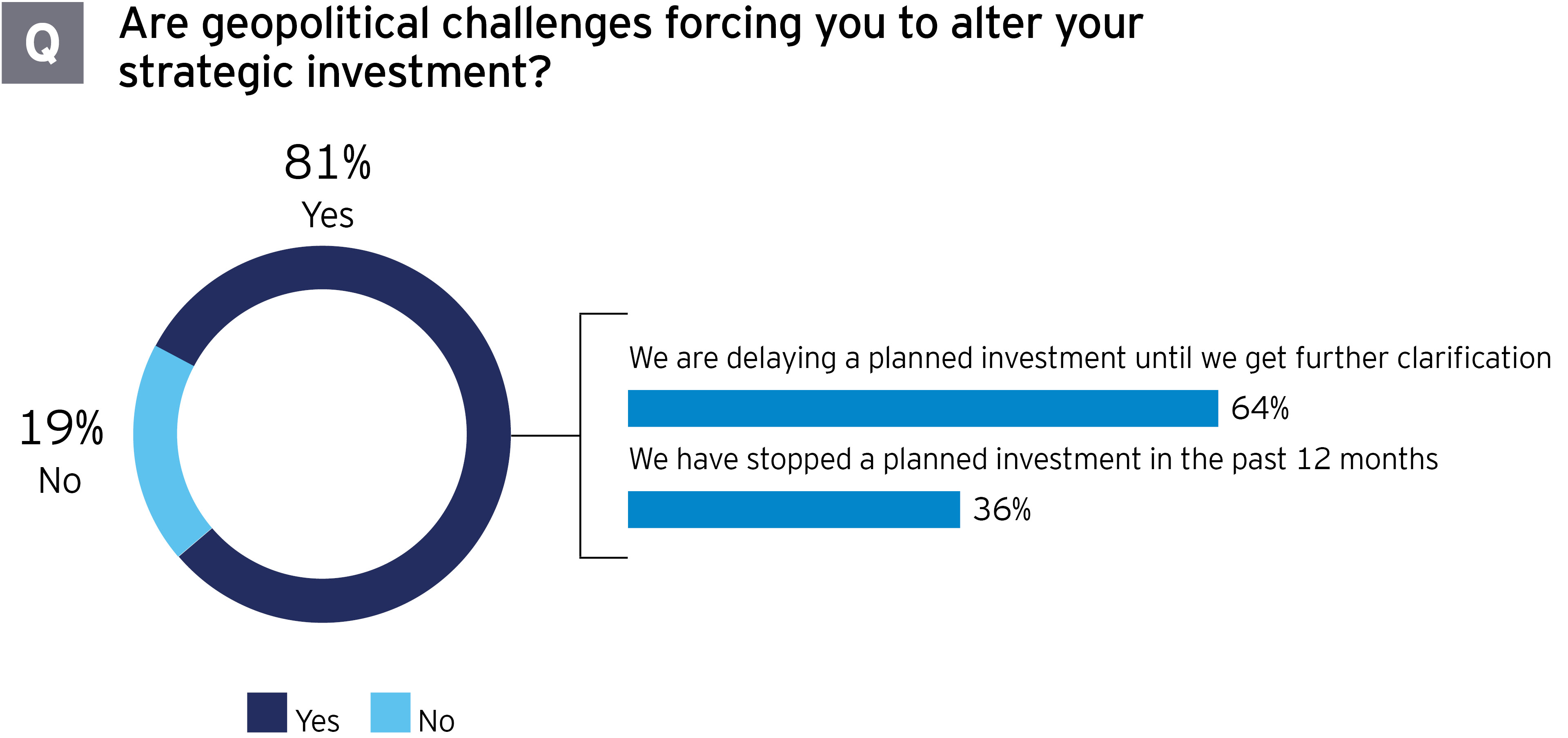 Government and infrastructure geopolitical challenges altering strategic investment
