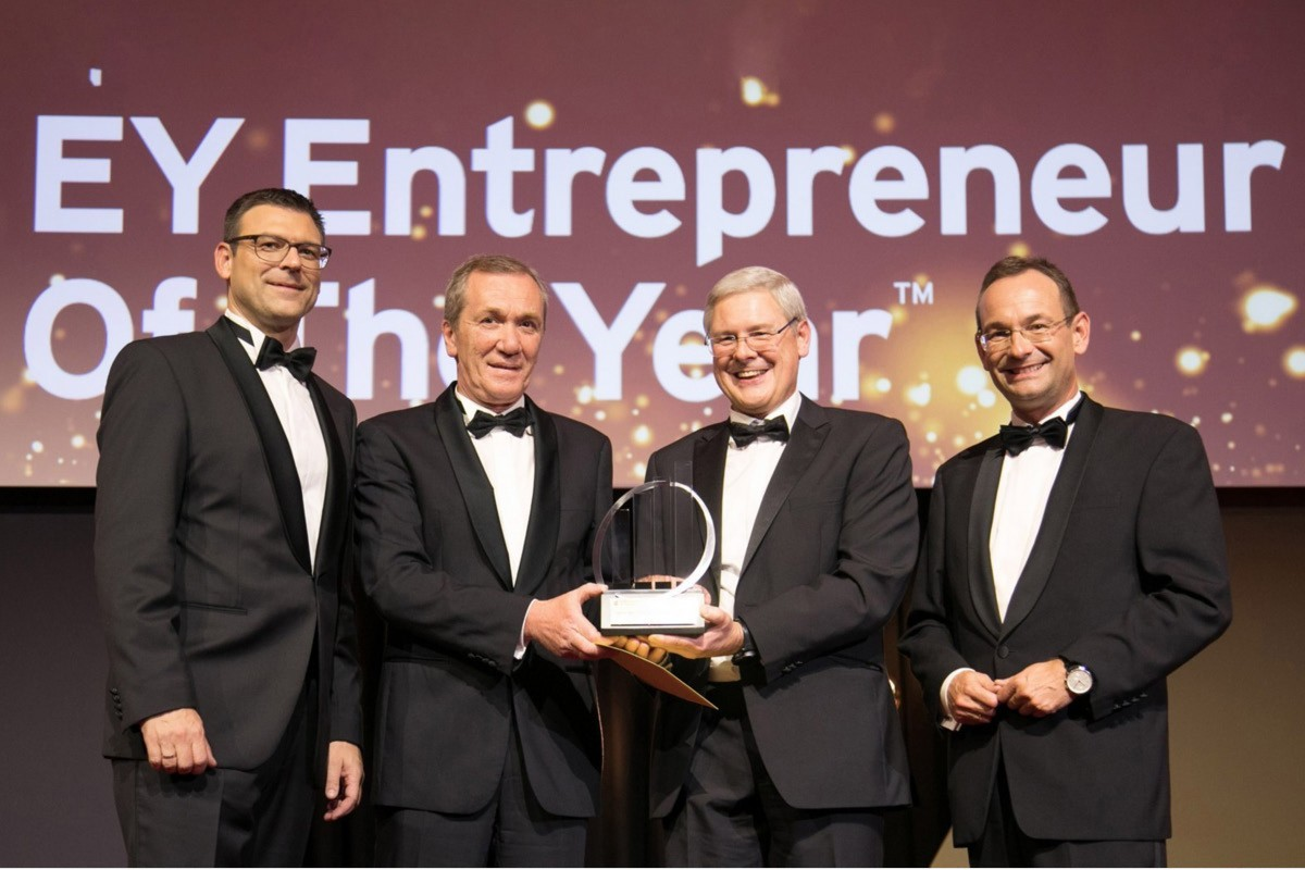 Photography of family business award winner Austria