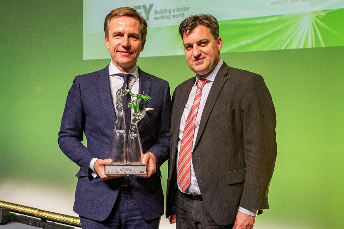 Photography of family business award winner Belgium