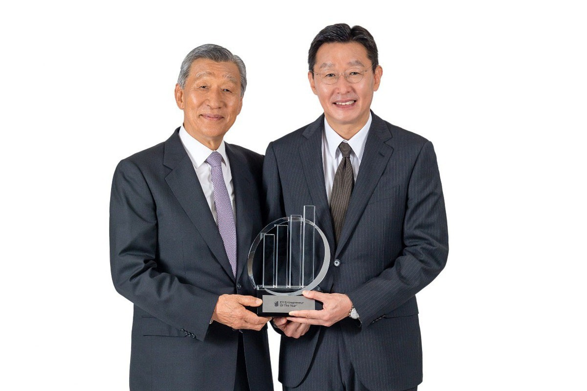 South Korea family business award winner