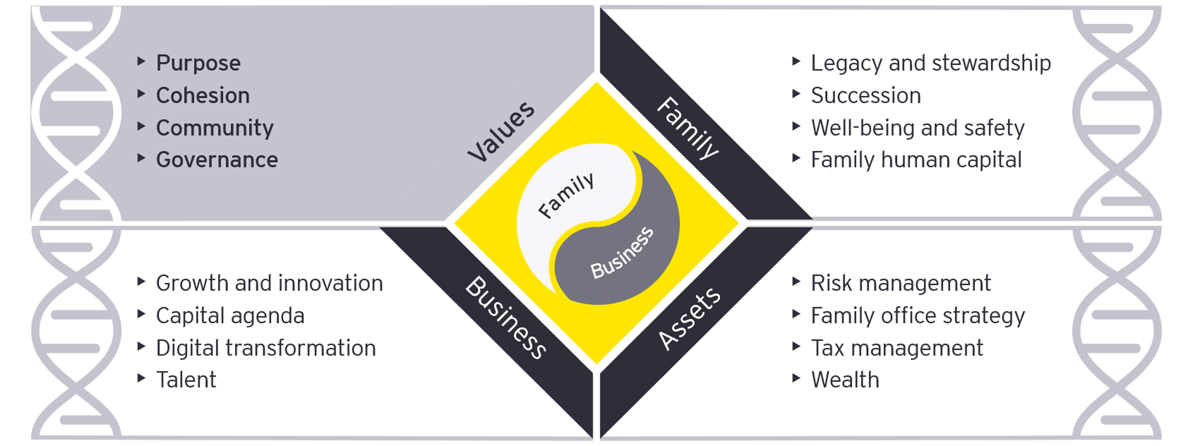 Family enterprise DNA values