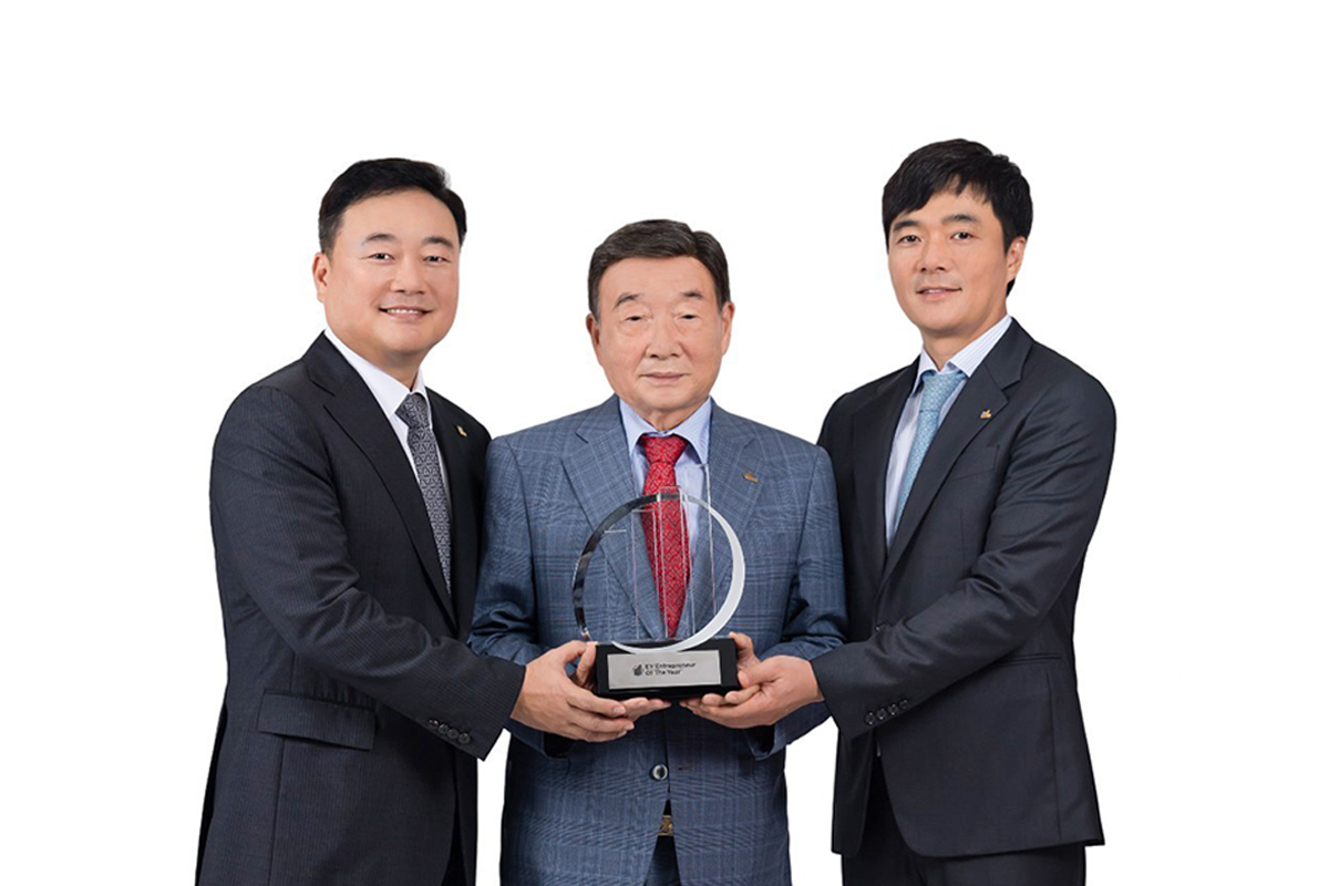 Family business award winner South Korea