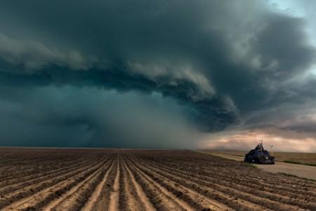龙卷风拦截车辆严重雷暴科拉多美国